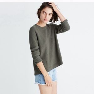Madewell Province Cross-Back Pullover Knit Sweater